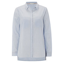 Buy White Stuff Endless Striped Shirt, Light Blue Online at johnlewis.com