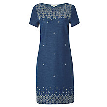 Buy White Stuff Hepworth Jersey Dress, Denim Online at johnlewis.com