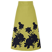 Buy Coast Edie Boarder Skirt, Lime Online at johnlewis.com