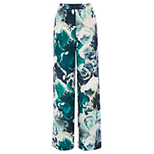 Buy Coast Rome Printed Wide Leg Trousers, Multi Online at johnlewis.com