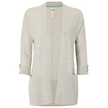 Buy White Stuff Hepworth Cardigan, Light Grey Online at johnlewis.com
