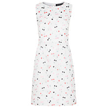 Buy Sugarhill Boutique Lydia Cherry Jacquard Dress, Stone Online at johnlewis.com
