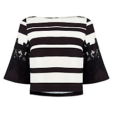 Buy Coast Carmina Striped Top, Multi Online at johnlewis.com