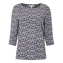 Buy White Stuff Kiln Top, Ebony Blue Online at johnlewis.com