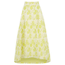 Buy Coast Rivena Hi Low Skirt, Lime Online at johnlewis.com