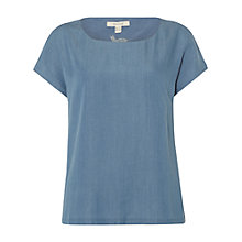 Buy White Stuff Henrietta T-Shirt, Denim Online at johnlewis.com