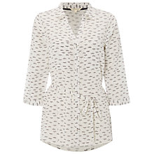 Buy White Stuff Hepworth Shirt Tunic, Buttermilk Online at johnlewis.com