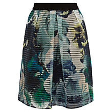 Buy Coast Rome Floral Mesh Skirt, Multi Online at johnlewis.com