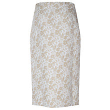 Buy True Decadence Front Slit Midi Skirt, White Online at johnlewis.com