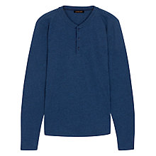 Buy Jaeger Long Sleeve Henley T-Shirt Online at johnlewis.com