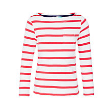 Buy John Lewis Girls' Stripe French Rib Top Online at johnlewis.com