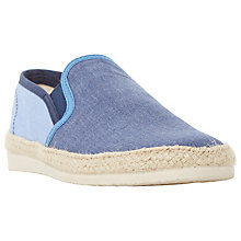 Buy Bertie Fondant Chambray Espadrilles Online at johnlewis.com
