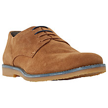 Buy Dune Bengal Suede Colour Pop Lace-Up Desert Shoes, Brown Online at johnlewis.com