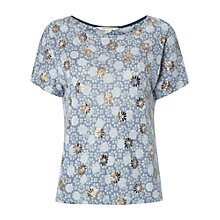 Buy White Stuff Potters Glaze T-Shirt, Ceramic Green Online at johnlewis.com