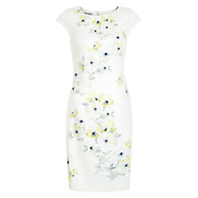Buy Hobbs Maiya Dress, Ivory Yellow Multi Online at johnlewis.com