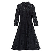 Buy Hobbs Selena Dress, Navy Online at johnlewis.com
