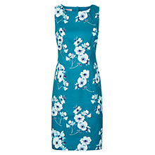 Buy Hobbs Camilla Dress, Peacock Multi Online at johnlewis.com