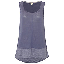 Buy White Stuff Wilton Linen Jersey Vest Online at johnlewis.com