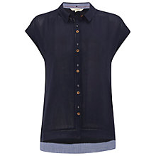Buy White Stuff Savannah Vest, Navy Online at johnlewis.com