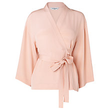 Buy L.K. Bennett Alisa Wrap Front Top Online at johnlewis.com