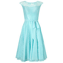 Buy Jacques Vert Lace Prom Dress, Light Blue Online at johnlewis.com