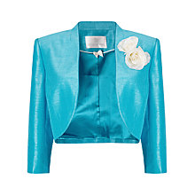 Buy Jacques Vert Dart Detail Bolero, Mid Blue Online at johnlewis.com