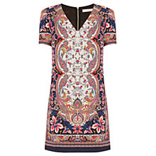 Buy Oasis Nikita Paisley Shift Dress, Multi Online at johnlewis.com