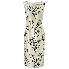 Buy Jacques Vert All Over Flower Dress, Cream Online at johnlewis.com