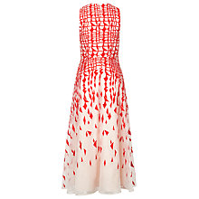 Buy L.K. Bennett Georgia Geometric Layered Midi Dress Online at johnlewis.com