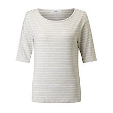 Buy John Lewis Marl Stripe Top Online at johnlewis.com