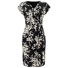 Buy Jacques Vert Eastern Print Jersey Dress, Multi Online at johnlewis.com