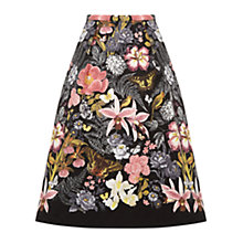Buy Oasis Botanical Skirt, Multi Online at johnlewis.com
