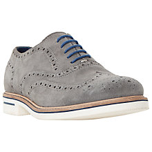 Buy Dune Brooklyn Height Suede Lace-Up Brogues Online at johnlewis.com