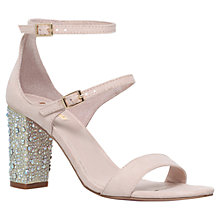 Buy Carvela Geisha Double Strap Studded Mid Heel Sandals Online at johnlewis.com