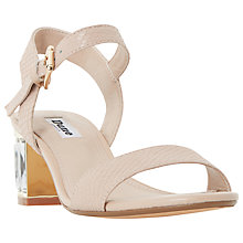 Buy Dune Marcia Jewelled Block Heel Sandals Online at johnlewis.com