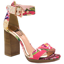 Buy Ted Baker Lorno Block Heeled Sandals Online at johnlewis.com