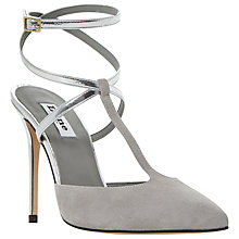 Buy Dune Chloey Two Part Cross Strap Court Shoes Online at johnlewis.com
