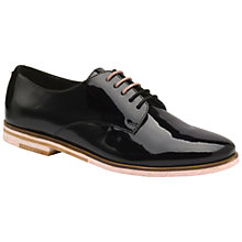 Buy Ted Baker Loomi Lace Up Brogues, Black Online at johnlewis.com