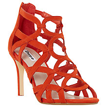 Buy Dune Maida Loop Detail Caged High Heel Sandals Online at johnlewis.com