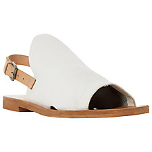 Buy Dune Black Lilymay Peep Toe Shoe Sandals Online at johnlewis.com
