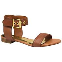 Buy Ted Baker Leeban Sandals, Tan Online at johnlewis.com