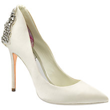 Buy Ted Baker Mieon Embellished Court Shoes Online at johnlewis.com