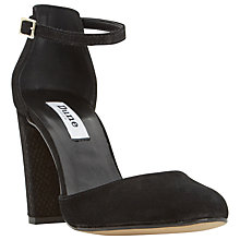 Buy Dune Cairo Two Part Block Heeled Court Shoes Online at johnlewis.com