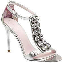 Buy Ted Baker Maithar Embellished Stiletto Sandals Online at johnlewis.com