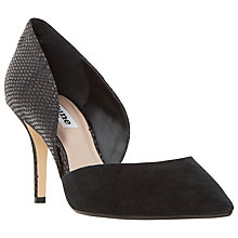 Buy Dune Cindey Two Part Stiletto Court Shoes Online at johnlewis.com