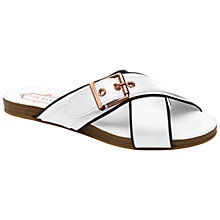 Buy Ted Baker Lapham Flat Slip On Sandals Online at johnlewis.com
