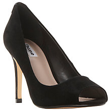 Buy Dune Dinah Peep Toe High Heel Court Shoes Online at johnlewis.com