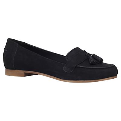 Carvela Millie Tassel Loafers, Navy