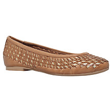 Buy Carvela Mickey Woven Pumps, Tan Online at johnlewis.com