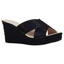 Buy Carvela Comfort Sabrina Wedge Heeled Sandals Online at johnlewis.com
